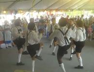 Island Oktoberfest dancers