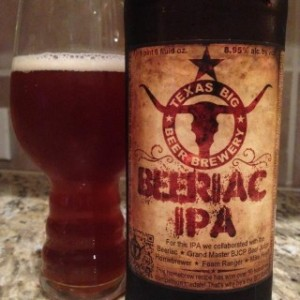 Texas BIG Beer Beeriac IPA