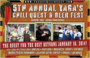 Yaga's Chili Quest and Beer Fest