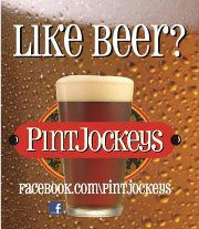 Pint Jockeys like beer