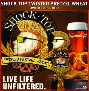 Shock Top pretzel