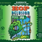 Karbach Hop Delusion label