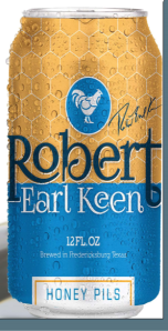 Robert Earl Keen beer can