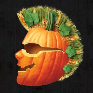 Shock top pumpkin head